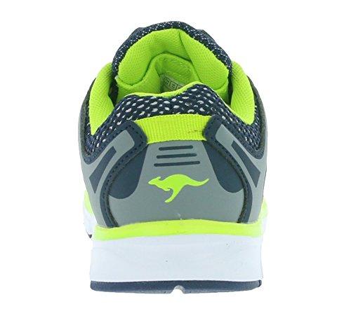 KangaROOS Unisex-Kinder Kol I Sneaker Blau