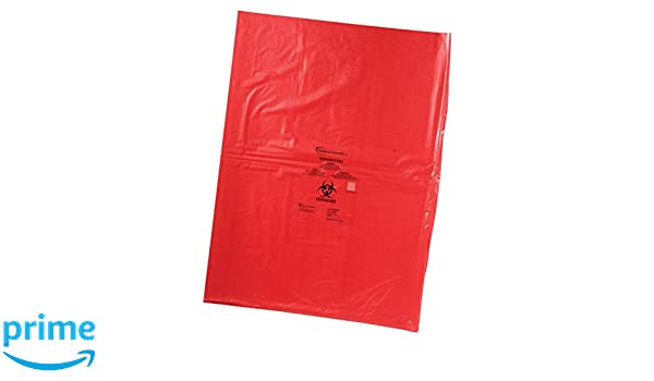 Heathrow HS10320 Biohazard bag 203 mm x 305 mm Pack of 500