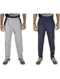 Kuchipoo Men's Pajama Lower Track Pants, Set of 2