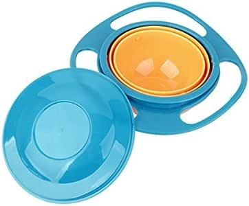 fendii nicht Ölpest Füttern Kleinkinder Schüssel Gyro Bowl 360drehbar Kids vermeiden Lebensmittel Verschütten