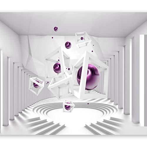 murando Papier peint intissé 350x256 cm Décoration Murale XXL Poster Tableaux Muraux Tapisserie Photo Trompe l'oeil abstraction 3D a-A-0173-a-c
