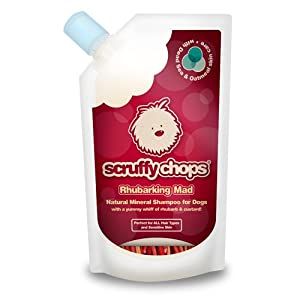 ScruffyChops Rhubarking Mad Dog Shampoo 250ml/8.45fl oz from Finders International Ltd