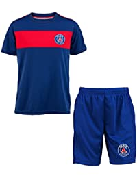 Maillot + short PSG - Collection officielle Paris Saint Germain - Taille enfant garçon
