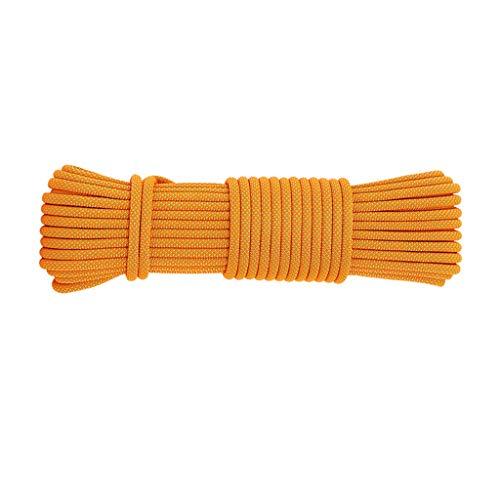 LIINAWS corda Corda da lavoro aerea da 10,5 mm, filo in poliestere ad alta resistenza che torce processo a doppio filo tessitura morbida resistente all'usura e resistente allo sporco facile da pulire