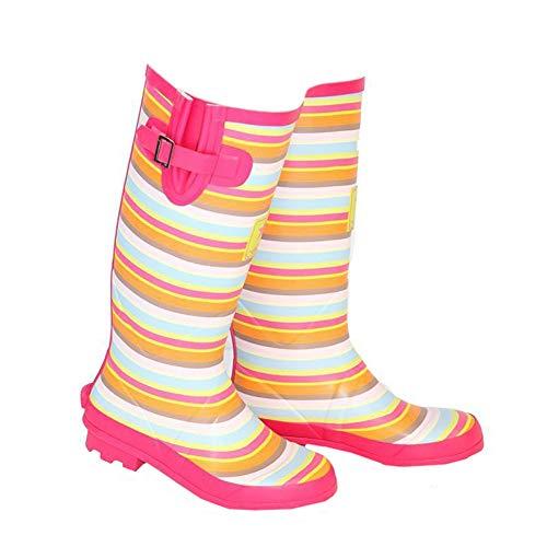 Hawkins Ladies Rubber Wellies/Wellington Boots with Buckle