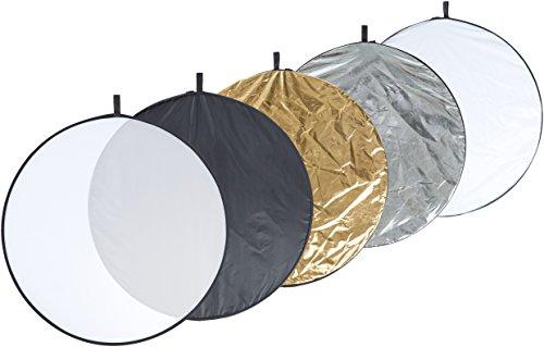 AmazonBasics - 5-in-1-Faltreflektor, 109,22 cm, inkl. Tragetasche