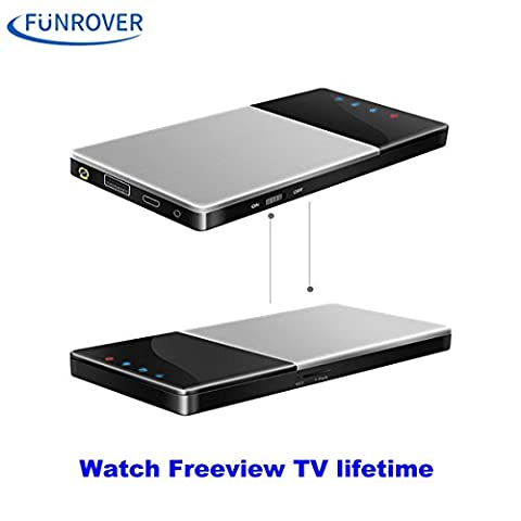 FUNROVER Wifi TV Box DVB-T / T2 Digital TV HD Auto / Heim / Outdoor Portable iOS 10 Android 5.1 Auto Radio Stereo Freeview Tuner Empfänger mit Antenne
