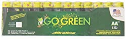 GoGreen Power 24048 - Alkaline AA 48pk