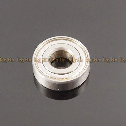 FidgetGear Lager [10 Stück] S697zz 7x17x5mm S697 Edelstahl 440c Kugellager -