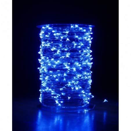 Guirlande cascade intérieur 400 LED - 2 m - Blanc Froid