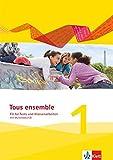 Tous ensemble 1: Fit für Tests und Klassenarbeiten mit Lösungen und Multimedia-CD 1. Lernjahr (Tous ensemble. Ausgabe ab 2013)