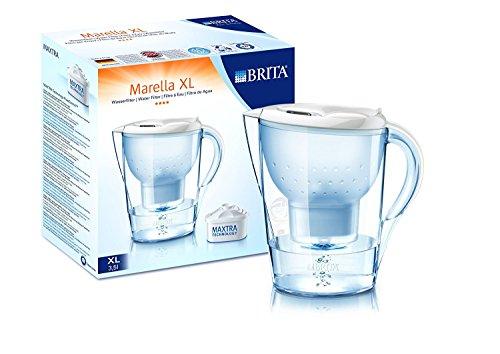 Brita Marella XL Memo weiß inklusiv 4 Maxtra Filterkartuschen