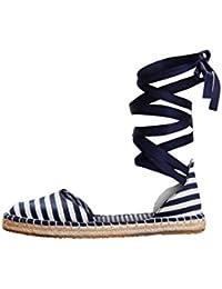 Scarpe 2018 stile unico elegante nello stile Amazon.it: scarpe donna lacci - Espadrillas basse / Scarpe ...