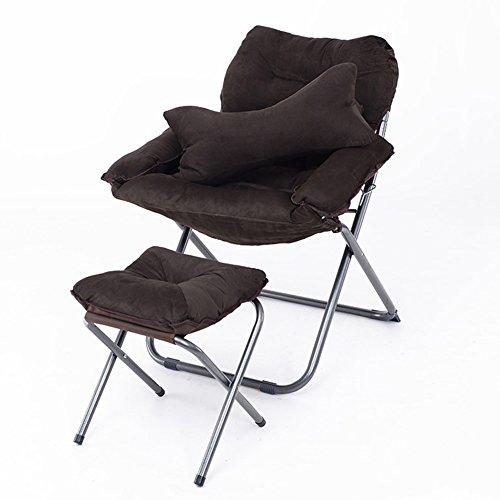 QIDI Chaise Longue Chambre Simple en Métal 133 * 18 * 70cm (Couleur : Style 3)