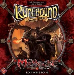 Fantasy Flight Games VA30 - Runebound: Midnight Expansion, englische Ausgabe
