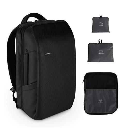 Sterkmann Business Handgepäck Rucksack Reiserucksack Herren Daypack Backpack - Erweiterbarer Wasserdicht für 15,6 Zoll Laptop mit Kompr...