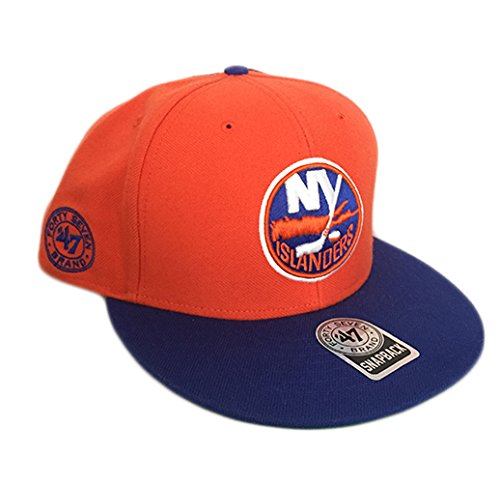 '47 Brand New York Islanders 2-Tone Back Slide Snapback NHL Cap (New York Islanders-hüte)