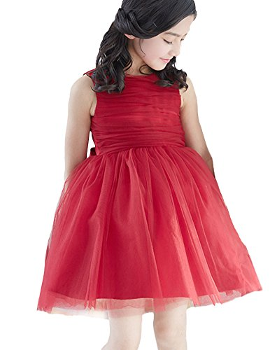 SK Studio Mädchen Kleid rot rot (2) Small Gr. Large, rot (Cinderella Light Kleid Up)