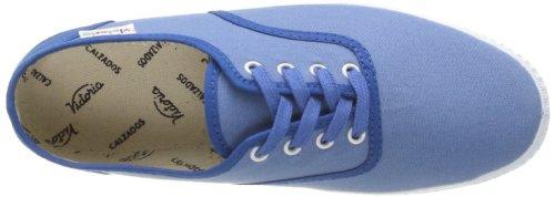 Detall Blau Erwachsene azul Contrast Bleu Lona Inglesa Victoria Unisex Sneaker 0XqwgEA