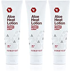 Lot de 3 Aloe Vera Heat Lotion Lotion de massage – FORVER Living FLP