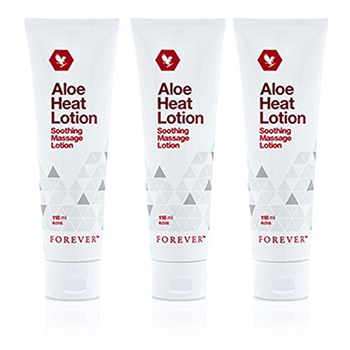3 Stück Aloe Vera Heat Lotion Massage Lotion - Forver Living FLP