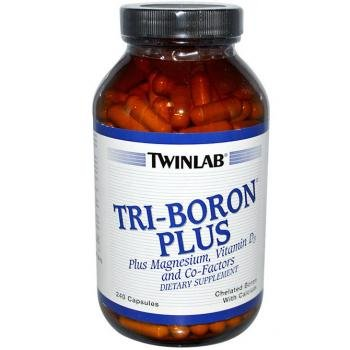 Twinlab Tri-Boron Plus, 240 Capsules