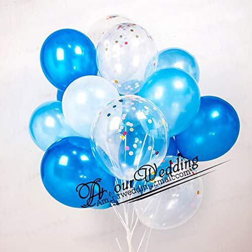 Für Hochzeitstag Bollons | 15pcs Gold-und Silber-Partei-Dekoration Marble Konfetti Luftballons für Hochzeit Geburtstagsfeier Fotografie Props Hintergrund Zubehör, wie Picture6