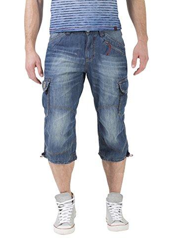 Timezone Herren Shorts Loose Miles Blau (Fog Blue Wash 3131)