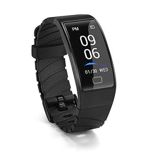 Abafia Fitness Tracker, Smartwatch Braccialetto Monitorare la Frequenza Cardiaca Notifica del Messaggio Impermeabile IP68 Orologio Fitness Activity per Samsung/iPhone/Huawe/Android e iOS