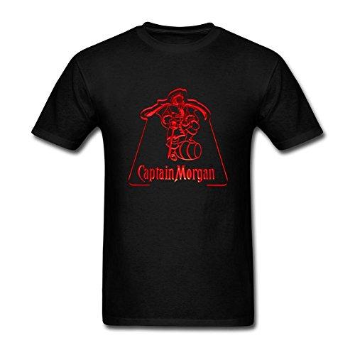 hommes-captain-morgan-art-short-sleeve-t-shirt-noir-large
