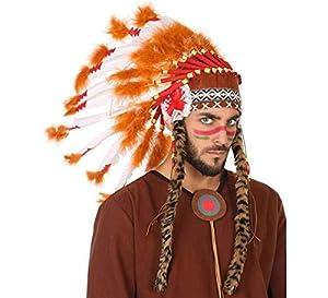 Atosa-56737 Plumas Gran Jefe Indio, (56737)