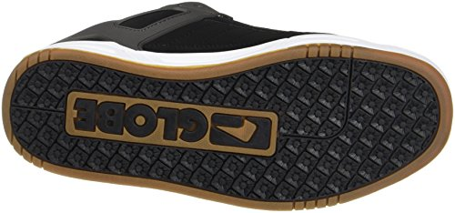 Globe Tilt, Chaussures de Skateboard homme Mehrfarbig (Black/CHARCOAL/RED)