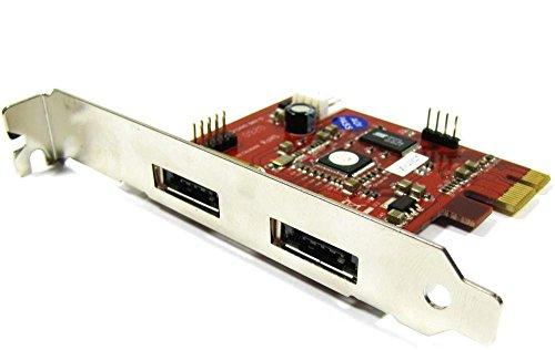 Cablematic PCI-Express-Adapter auf eSATA + USB (2 EXT) eSATAp Sil3132 (Esata-usb-pci)