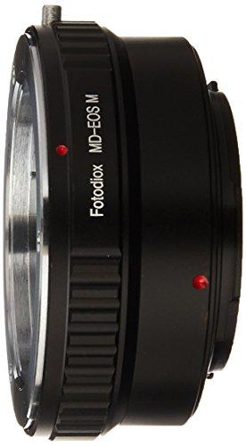 Fotodiox Lens Mount Adapter, Minolta MD/MC Lens to Canon EOS-M (EF-M Mount) Mirrorless Camera, EOS M, M2, M3 Minolta M
