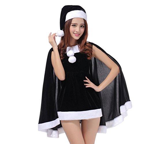 Christmas Party Dress Christmas hats Set Bunny Costumes Uniforms Temptation (Kostüme Bunny Stück 3 Sexy)