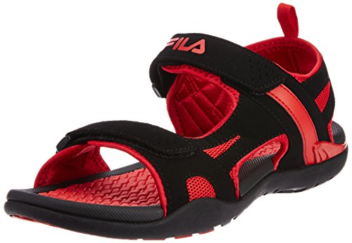 Fila Men's Energy Black and Red  Sandals and Floaters -9 UK/India (43 EU)  available at amazon for Rs.949