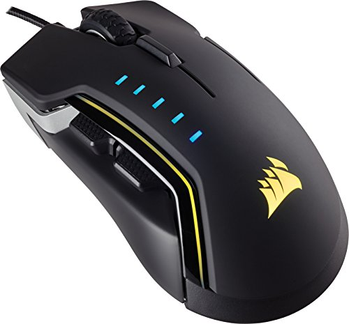 Corsair-Gaming-Glaive-RGB-multicolore-retroilluminato-performance-16000-dpi-Optical-Gaming-Mouse