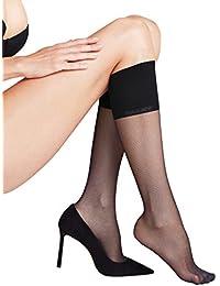 Amazon.fr   Mi-bas - Noir   Chaussettes et collants   Femme   Vêtements 834db26a9a3