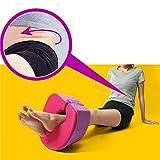 AMhuui Yoga-Block-Rollen-Kissen, Damen-Reise-Bein-Körper-Kissen-Übungs-Plastikring-Korrektur, die Bein-Kissen abnimmt
