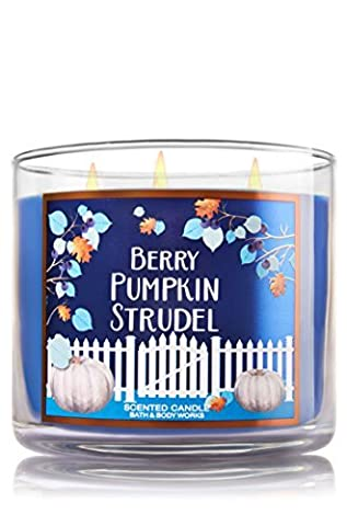 Bath and Body Works Berry Pumpkin Strudel Candle by Bath and Body Works Fall 2016