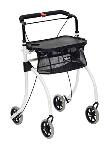 NRS Indoor Rollator Roomba leicht & wendig-Vier Rädern