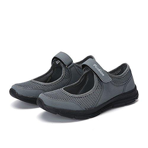 Authentic Damen Damen High Heel (DOGZI Sneakers Damen Turnschuhe Damen High Top Laufschuhe Damen Wanderschuhe Damen Frauen Sportschuhe Mode Frauen Schuhe Sommer Sandalen Anti Slip Fitness Laufschuhe Sportschuhe)