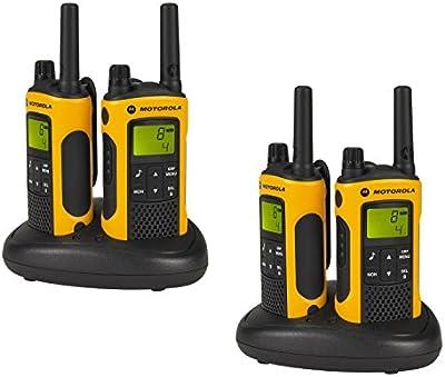 Motorola P14MAA03A1BL - Walkie-Talkie, naranja
