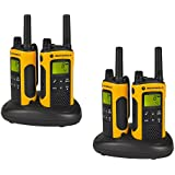 Motorola Quadpack T80EX Talkie walkie Jaune