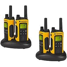 Motorola TLKR T80 Extreme Quadpack 8channels 446MHz two-way radio - two-way radios (Nickel-Metal Hydride (NiMH), 57 x 173 x 40 mm, 140 g)