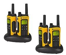 Motorola TLKR T80 Extreme Quadpack - two-way radios (Nickel-Metal Hydride (NiMH), 57 x 173 x 40 mm)