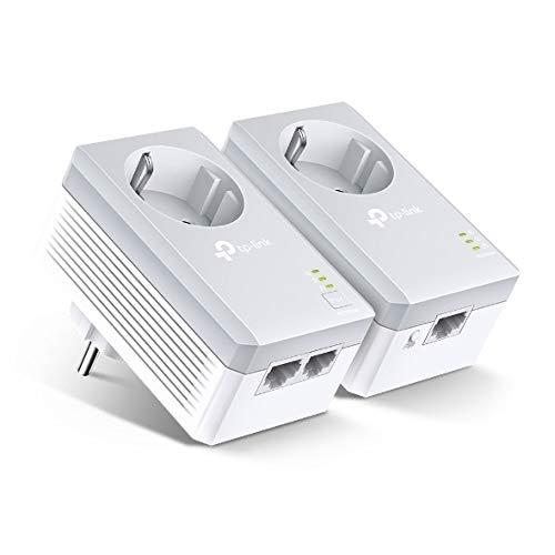 TP-LINK TL-PA4022P KIT Adaptateur réseau CPL 600 Mbit/s Ethernet/LAN Blanc - Adaptateurs réseau CPL (600 Mbit/s, 600 Mbit/s, Blanc) par  TP-LINK