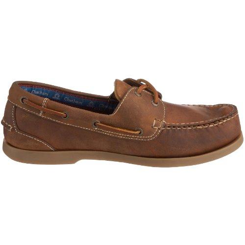 Chatham Marine Deck G2, Chaussures Bateau Homme Brun (Brown)