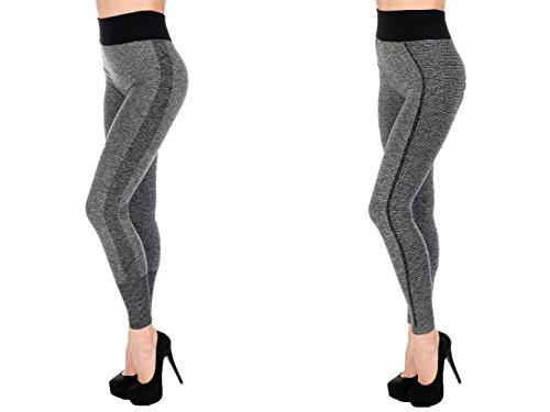 Crazy Age - Legging de sport - Femme taille unique 2081 +2082