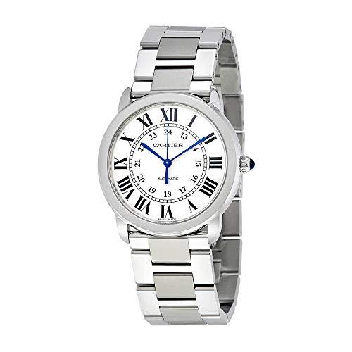 Cartier ronde Assolo argento opaline orologio WSRN0012